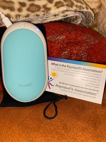 ocoopa rechargeable hand warmer