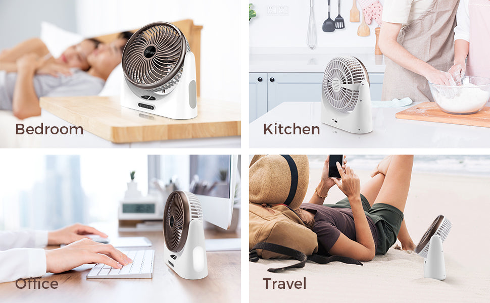 ocoopa desk fan with USB