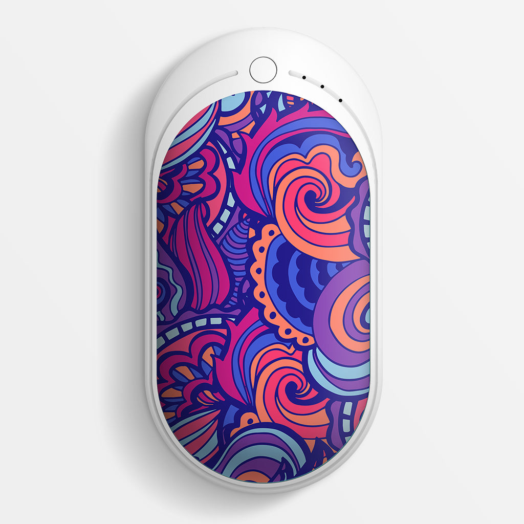 Ocoopa 118s R-ARTIST Rechargeable Hand Warmers 5200mAh Unique Design Pattern Hand Warmer