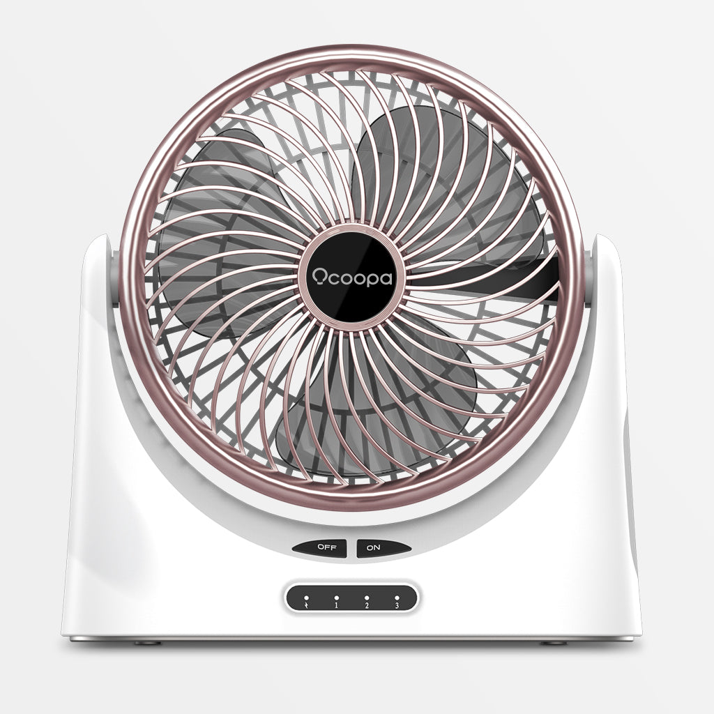 Ocoopa F02 Oscillating USB Desk Fan 4000mAh Rechargeable for UK free shipping buy on Amazon