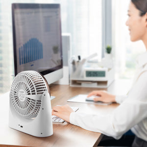 Ocoopa F02 Oscillating USB Desk Fan 4000mAh Rechargeable battery for UK free shipping buy on Amazon