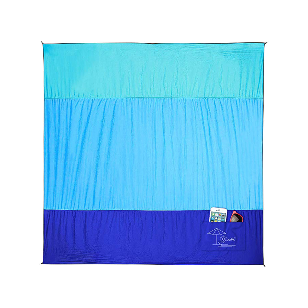 Ocoopa S02 10'X 9'Beach Blanket Sandproof Oversized