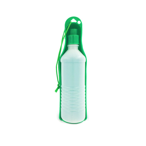 250ml/500ml Pet Folding Drinker Pet Dog Cat Outdoor Portable Drinking Bottle Bowl Pets Travel Drinker