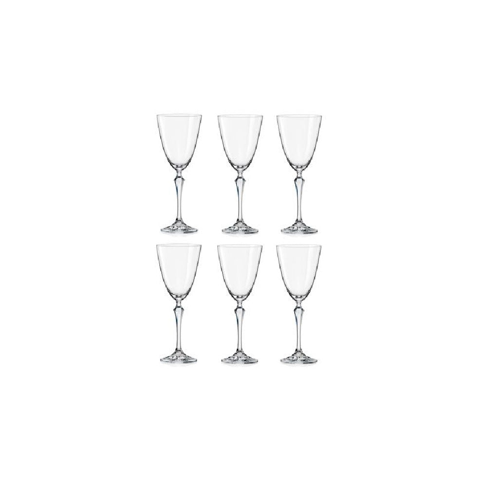 ELIZABETH SET 6 COPAS VINO TINTO 350ML LISA
