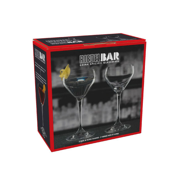 RIEDEL BAR SET 2 COPAS NICK & NORA