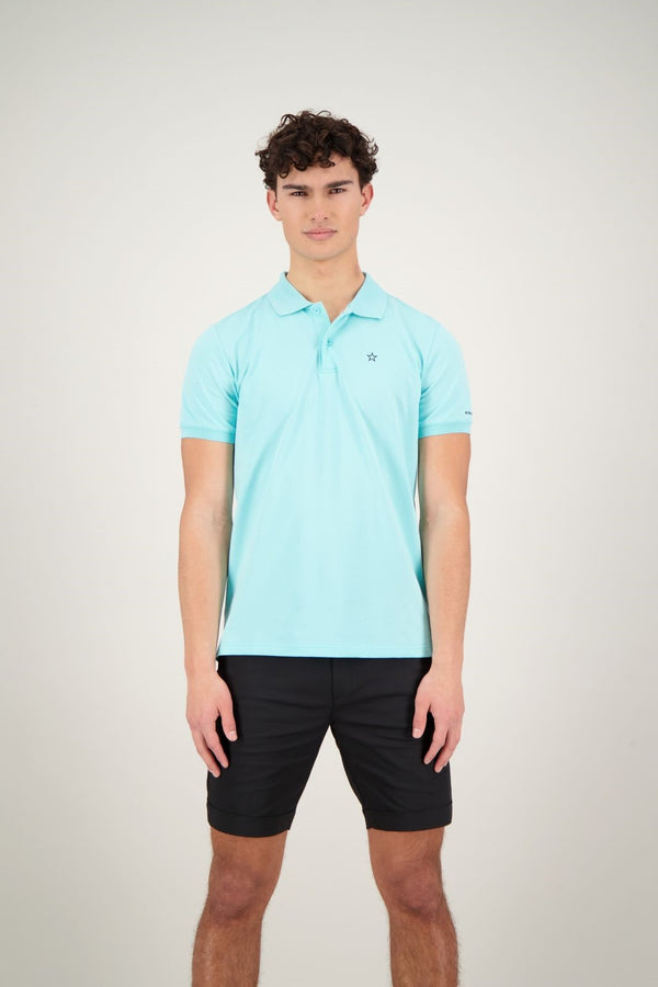 POLO OUTLINE STAR                   Aruba Blue
