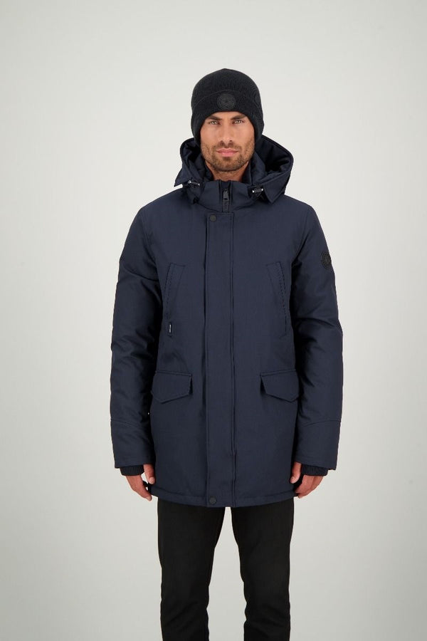 SLIMFIT PARKA                       Dark Navy Blue