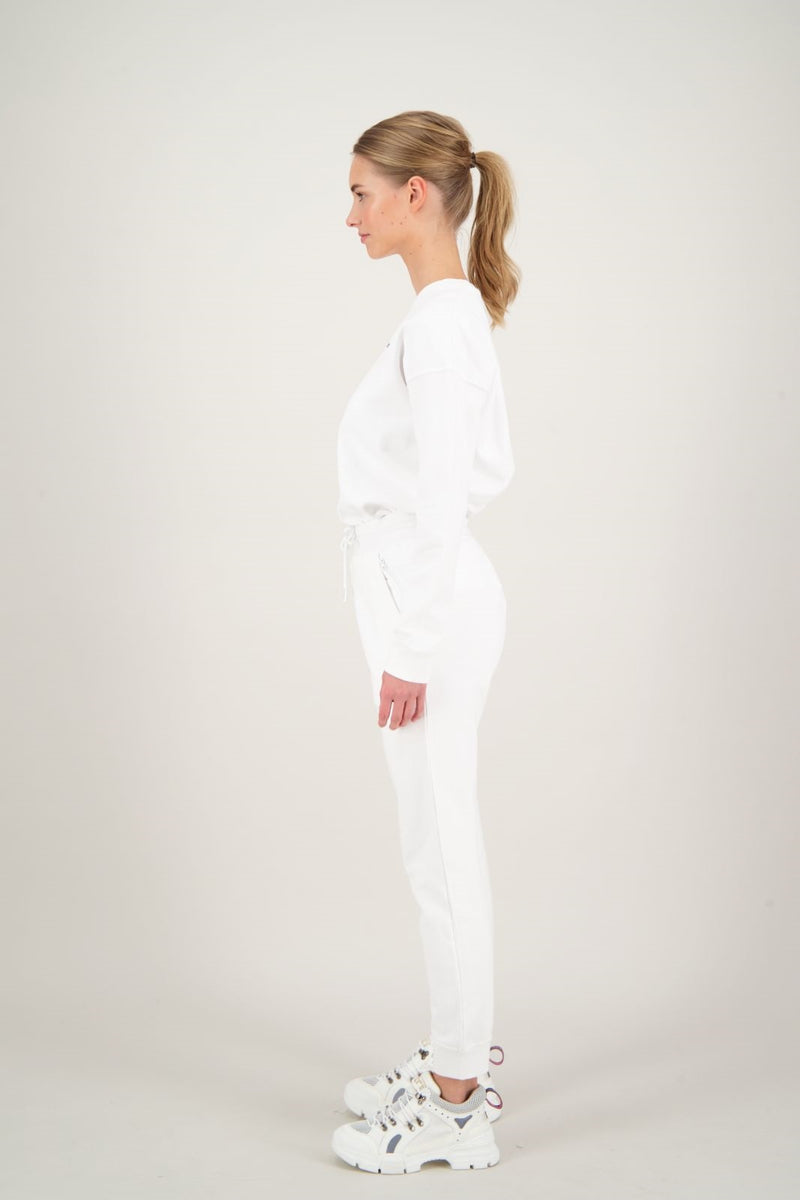 SWEAT PANTS                         White