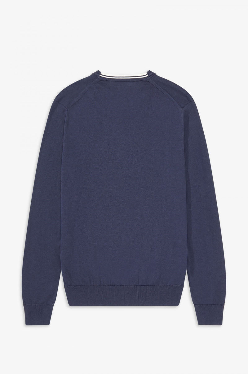 CLASSIC V NECK JUMPER               NAVY