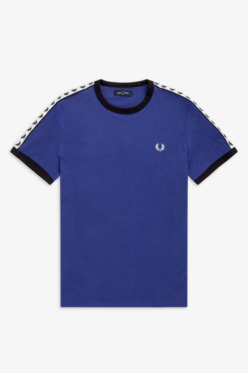 TAPED RINGER T-SHIRT                NAUTICAL BLUE