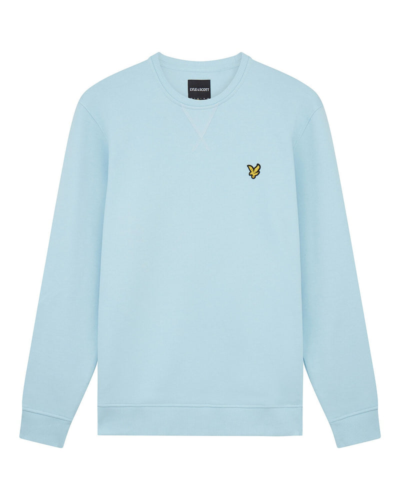 Crew Neck Sweatshirt                Deck Blue