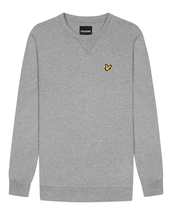 Crew Neck Sweatshirt                Mid Grey
