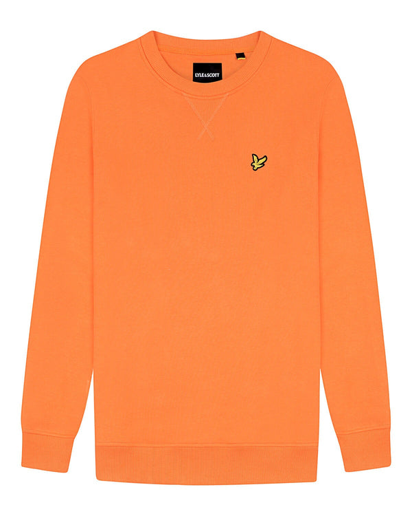 Crew Neck Sweatshirt                Risk Orange