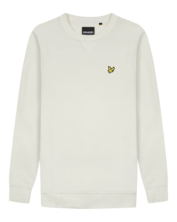 Crew Neck Sweatshirt                Vanilla Ice