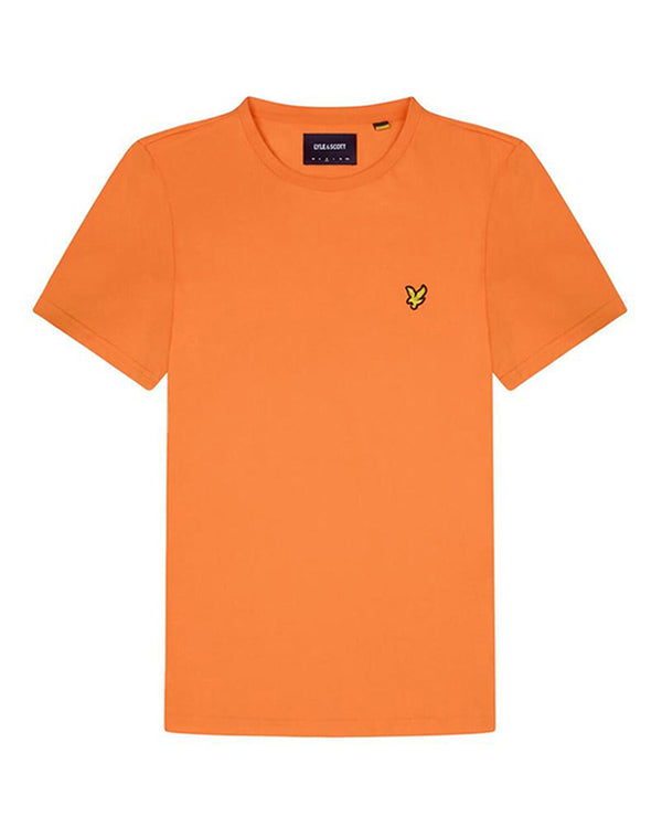 Crew Neck T-Shirt                   Risk Orange