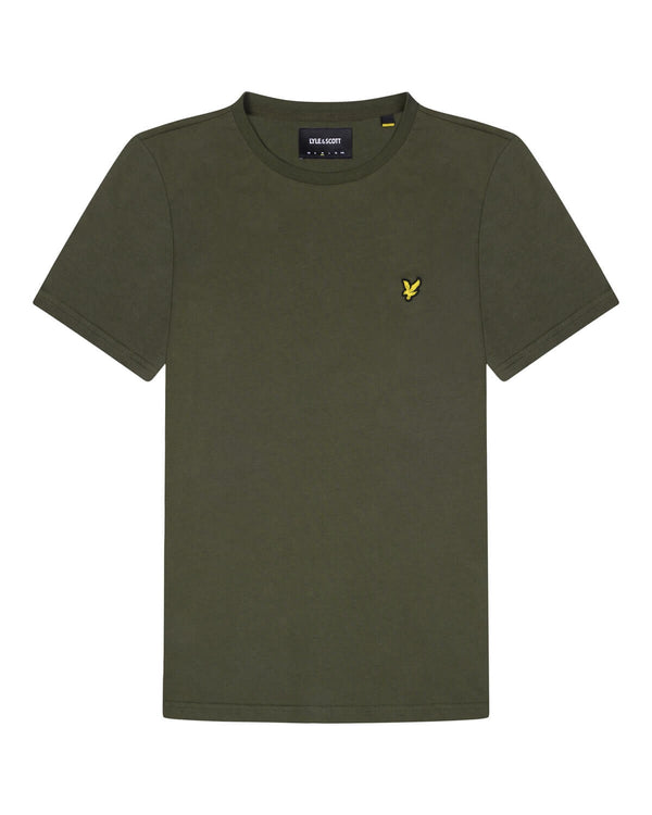 Crew Neck T-Shirt                   Trek Green