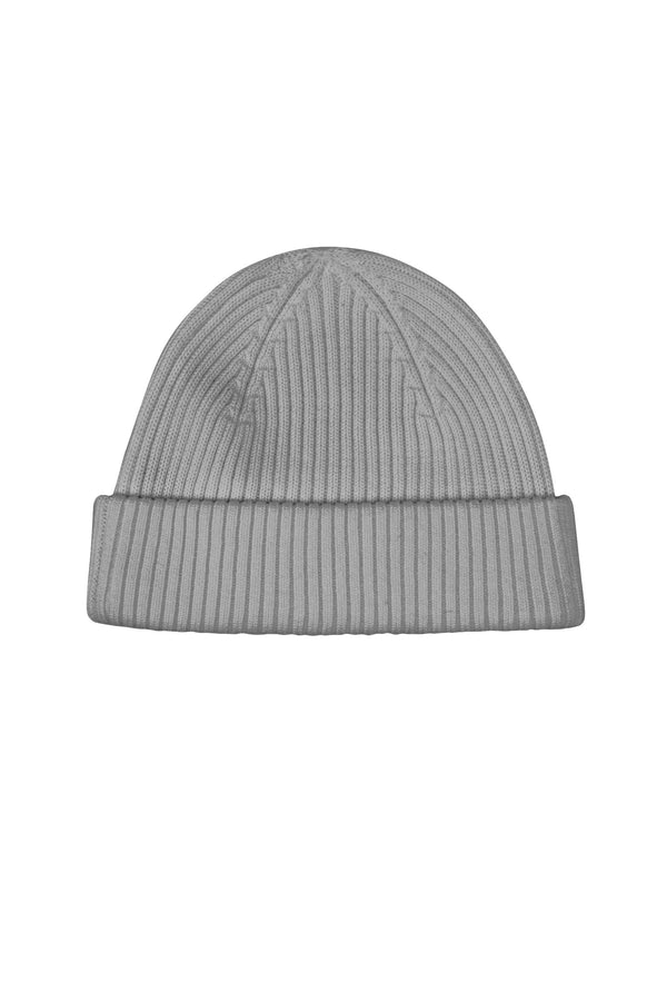 RIB HAT                             GREY MELANGE