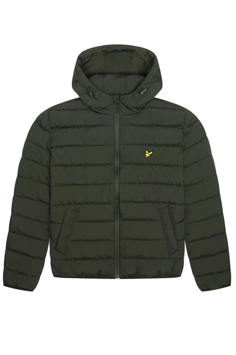 Lightweight Puffer Jacket           Trek Green