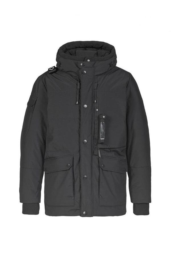 DOWN TORCH PARKA                    JET BLACK