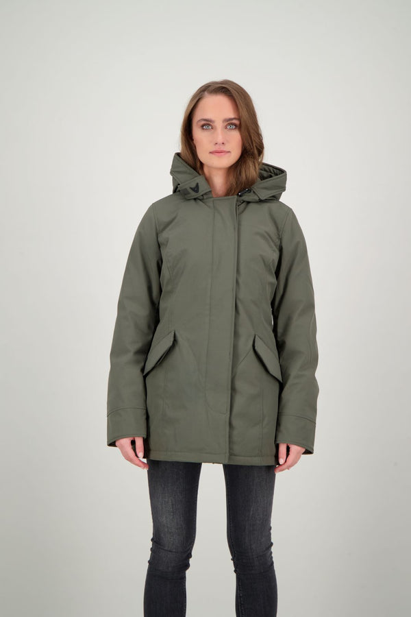 2 POCKET DELUXE PARKA               OLIVE NIGHT