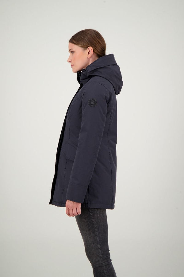 2 POCKET PARKA ICE                  Dark Navy Blue