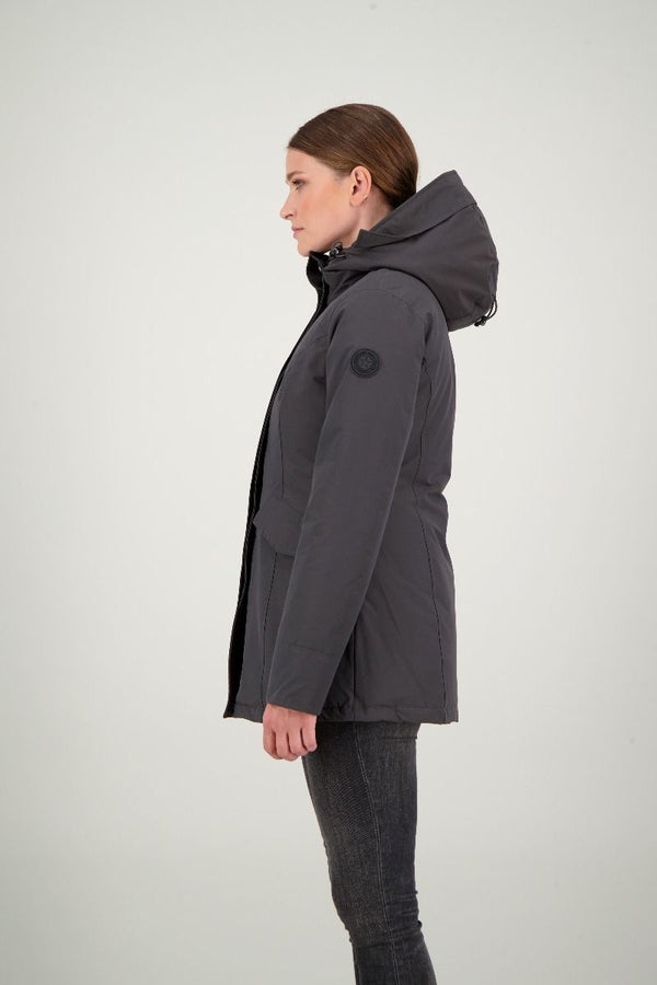 2 POCKET PARKA ICE                  Gun Metal