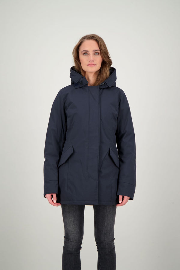 2 POCKET PARKA                      Dark Navy Blue