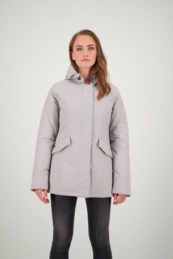 2 POCKET PARKA                      Poloma Grey