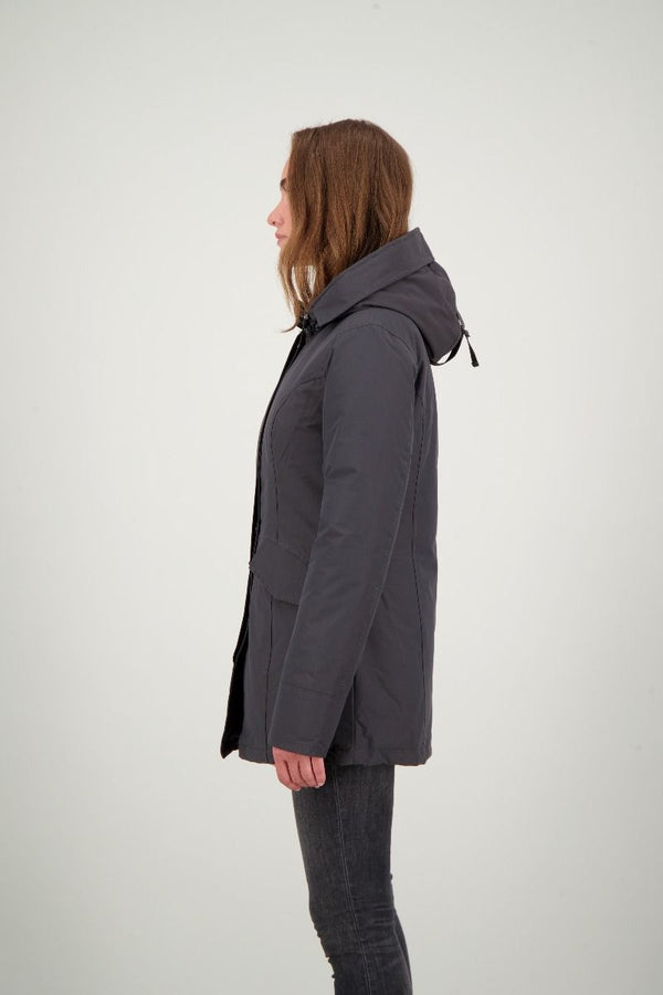 2 POCKET PARKA                      Gun Metal