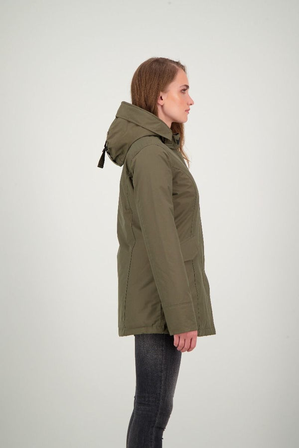 2 POCKET PARKA                      OLIVE NIGHT