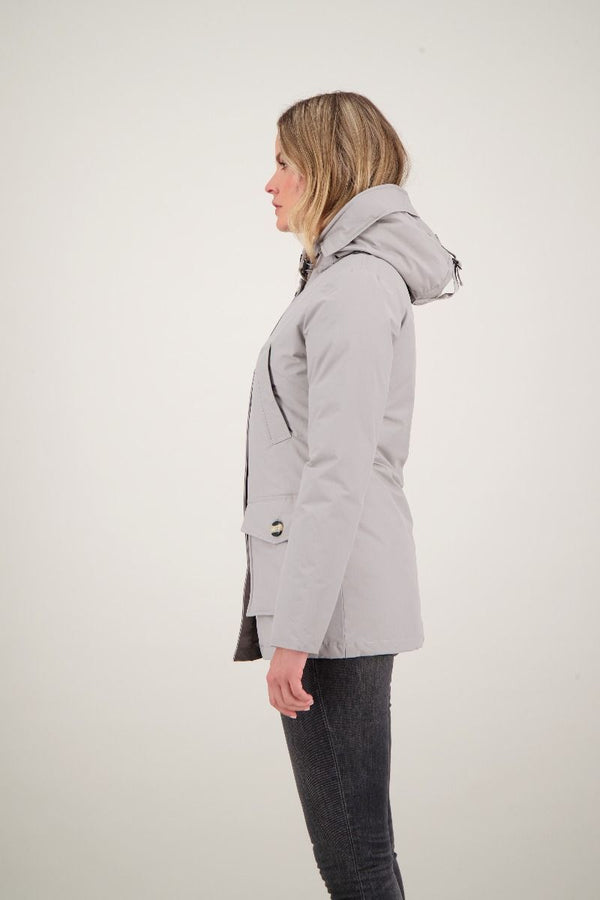 4 POCKET PARKA                      Poloma Grey