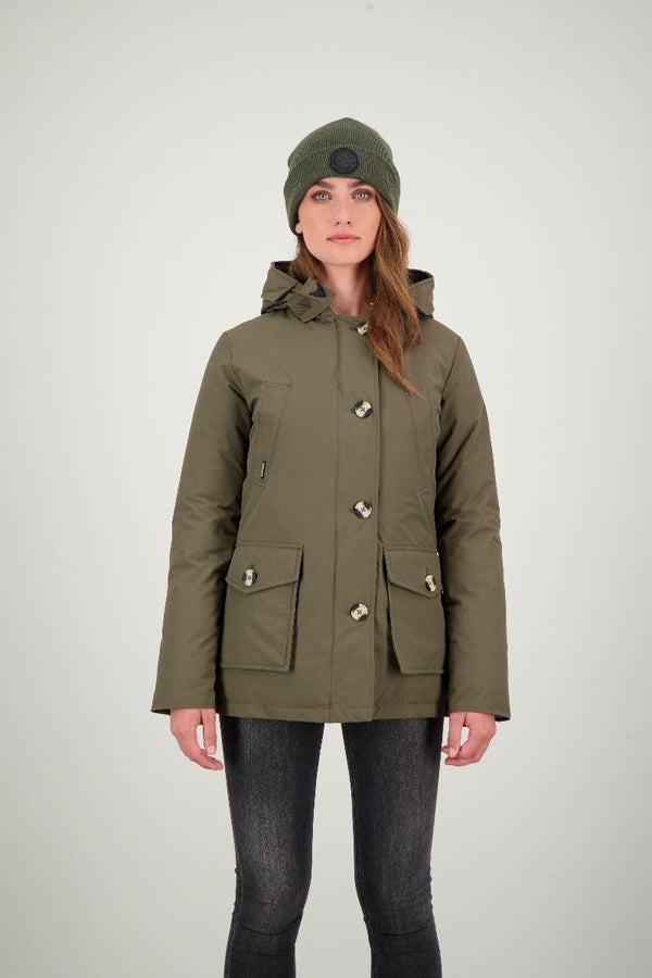 4 POCKET PARKA                      OLIVE NIGHT
