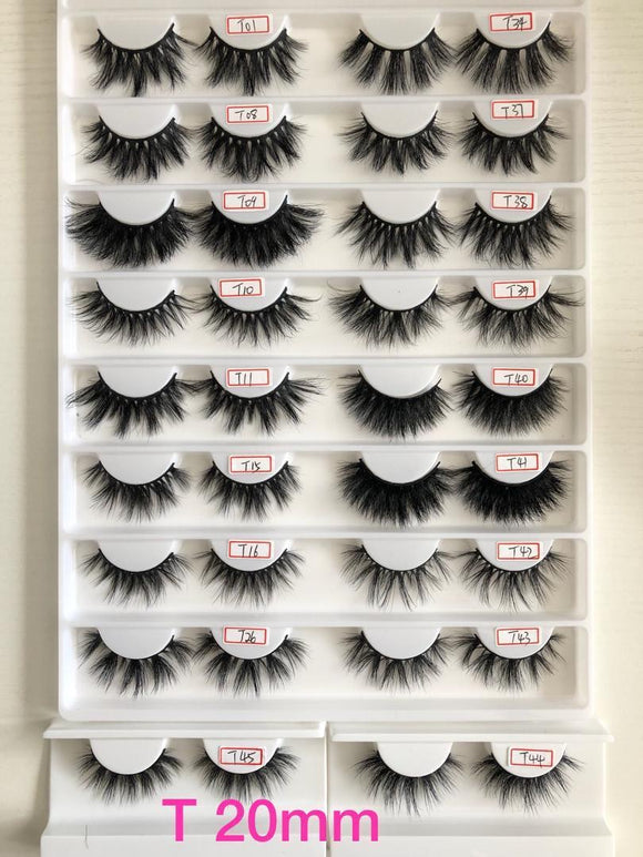 Therapy Collection 📝 20mm Mink Lashes