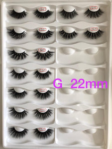 Gravity Collection 👣 22mm Mink Lashes