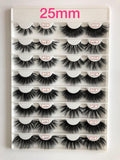 Love Collection ❤️ 25mm 3D Mink Lashes