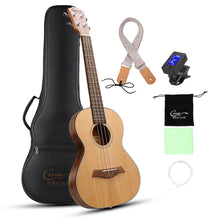 Load image into Gallery viewer, HRICANE Tenor Walnut Ukulele Ultra-thin Light for Travel