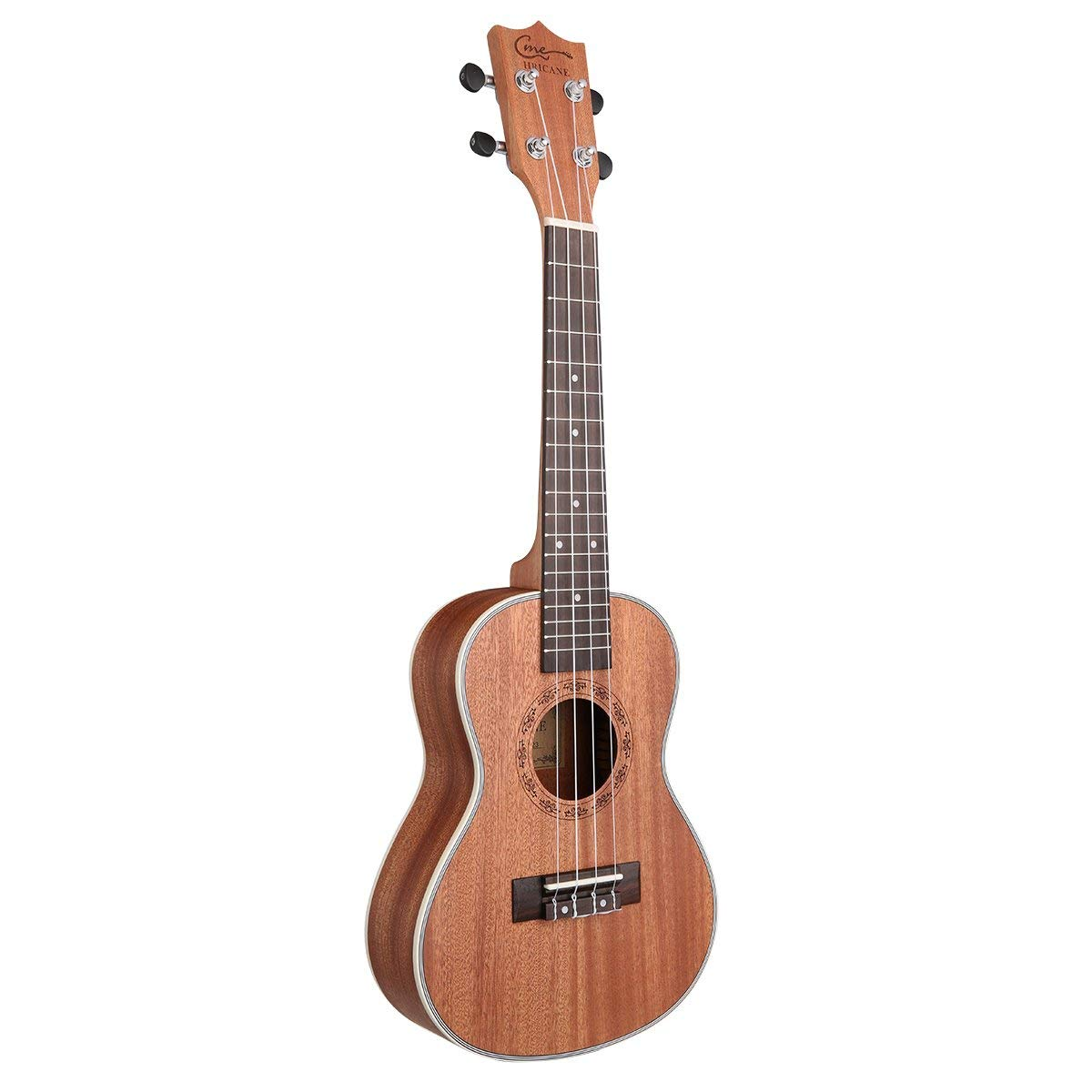 HRICANE Sapele Ukulele with Tenor size
