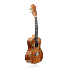 Load image into Gallery viewer, HRICANE Concert Solid Top Acacia Professional Ukulele Glossy Finished