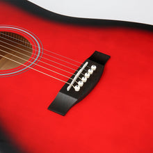 Load image into Gallery viewer, 41 Inch Mahogany Spruce Top Red-Dreadnought Acoustic Guitar