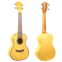 Load image into Gallery viewer, Hricane 23 Inch Tiger Veins Maple Professional Concert Ukulele