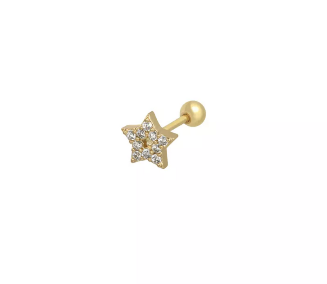 Single star gold - cartilage collection