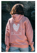 Load image into Gallery viewer, Olive & Frank Love Hoody Dusty Pink
