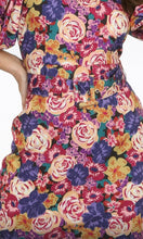 Load image into Gallery viewer, Floral Puff Sleeve dress
