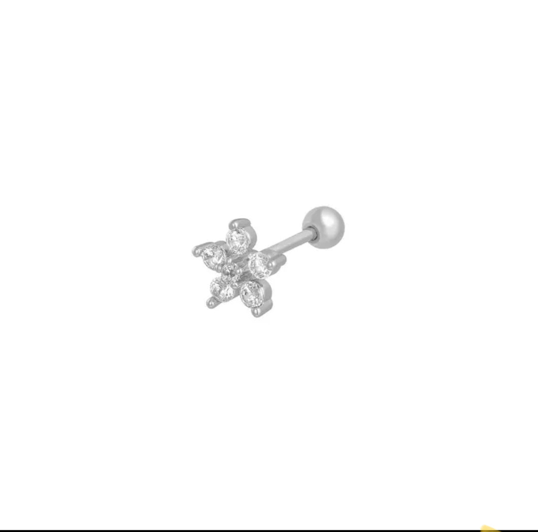 Flower silver - cartilage collection