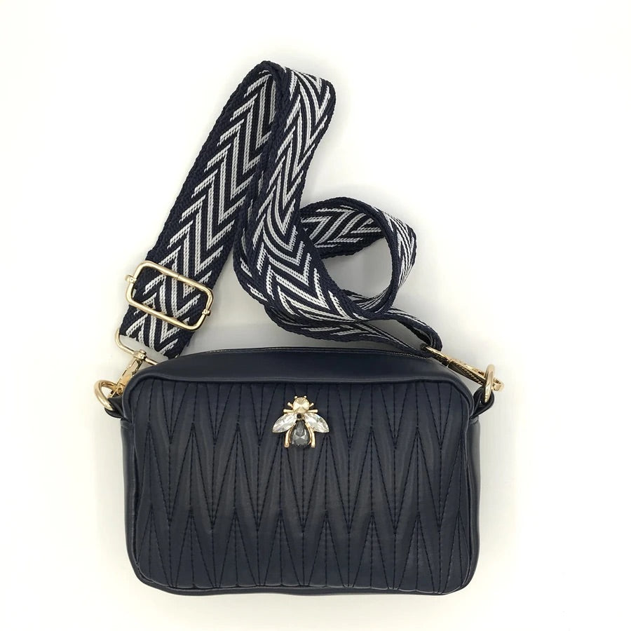 Rivington Bee bag- Navy small