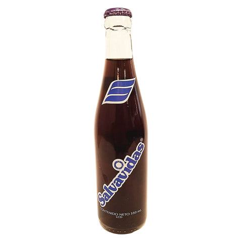 Salvavidas Grape Flavor Drink 12 oz