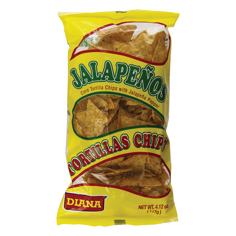 Diana Tortilla Chips, Jalapeno, 4.12 Ounce item