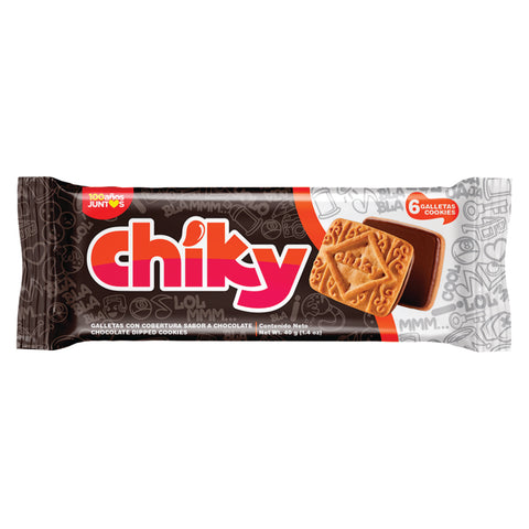galletas chiky chocolate item