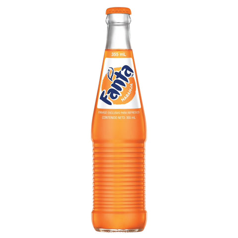 Fanta - Mexican Orange Soda - 12 oz
