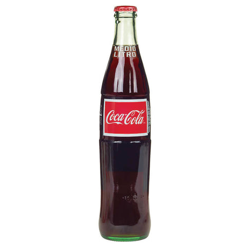 Mexican Coca-Cola - 16.9 oz glass bottles soda